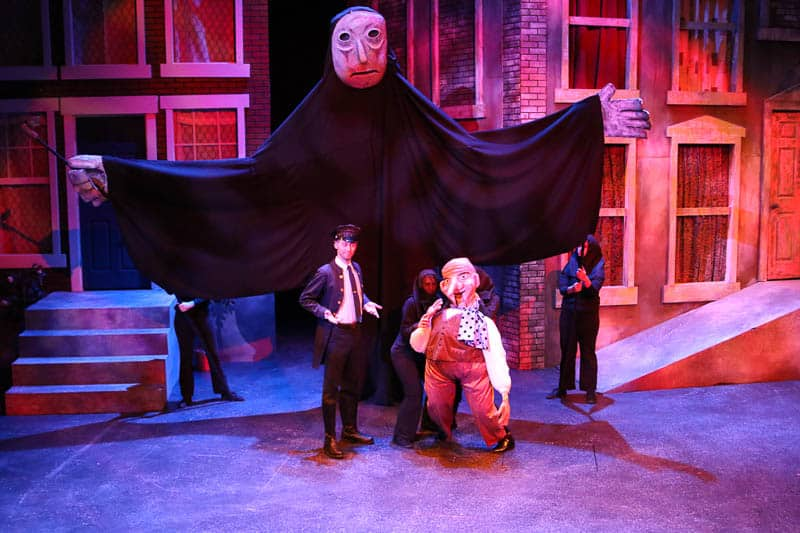 Measure for Measure puppets by Anne Sawyer